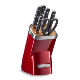 ست چاقو حرفه ای 7 تکه قرمز