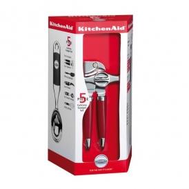 ست پنج تکه ابزار آشپزخانه قرمز
